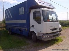 Renault horse box w plate - Renault horse box w plate http://www.equineclassifieds.co.uk/Horse/renault-horse-box-w-plate-listing-922.aspx#.U9drq0ATCZY