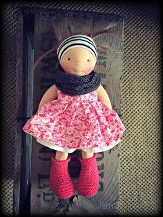 Elke Rosehip ~ a Luletti handmade doll