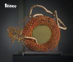 Artistry by Elly Lin Contemporary Flower Arrangements, Floral Arrangements, Flower Crafts, Flower Art, Sogetsu Ikebana, Flora Design, Flower Installation, Arte Floral, Flower Of Life