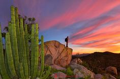 Out in the mountains near La Paz, Baja California Sur, Mexico. (Christian Heeb's photo on Google+)
