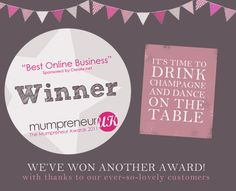 Did we mention we are winners ?