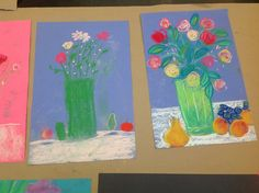 artwork from our morning Creative Arts Program
