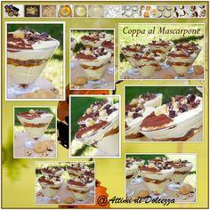 COPPA AL MASCARPONE Presto, Cereal, Breakfast, Sweet, Desserts, Food, Mascarpone, Morning Coffee, Candy