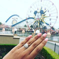 Crazy about yoU  #weddingwednesday #diamonds #diamondring #engaged #engagementring #disneyland #dreamring #2016bride #thekotrings #apbling #ettringoftheday #ringoftheday #jotd #ringshopping #ringselfie #bridetobe #weddingring #bling #relationshipgoals #jewelrygram #happiestplaceonearth #humpday #california #proposal #proposalideas #misstomrs #mrstobe #shoplocal #springtime #stpatricksday