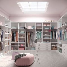 Ideal What a wonderful dressing room Onto my list it goes Closet goals by