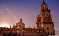 Catedral de Morelia, Michoacán (cantera rosada)