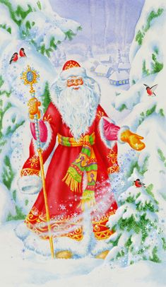 °‿✿⁀ Grandfather Frost ‿✿⁀°