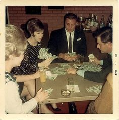 Clark wasn't sure but he thought that there should be cards to play with...not just money.