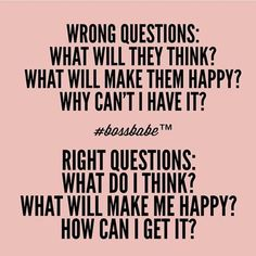 """BOSSBABE on Twitter: """"Which questions are you asking? ✨Take the ..."""