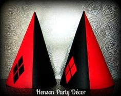 harley quinn birthday party supplies - Google Search