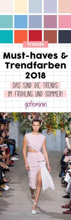 Modetrends Frühjahr/Sommer 2018: Das sind die 5 wichtigsten Styles