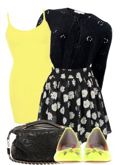 """""""daisy skirt"""" by kswirsding on Polyvore"""
