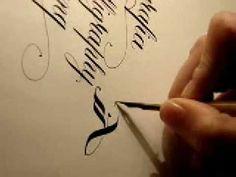 Calligraphy video