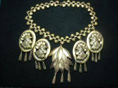 Joseff Hollywood Rooster Necklace