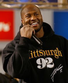 James Harrison...love the smile