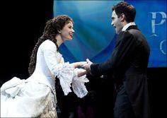 The Phantom of the Opera: Ramin Karimloo and Sierra Boggess.