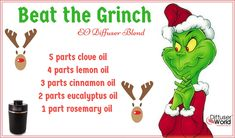 Fight the Grinch Essential Oil Diffuser Blend