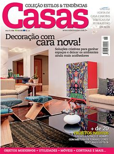 Editora Minuano - Revistas - Decoração - Casas Estilos & Tendências : COL ESTILOS & TENDENCIAS CASAS 036