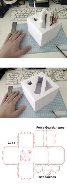 Cubo Porta Objetos