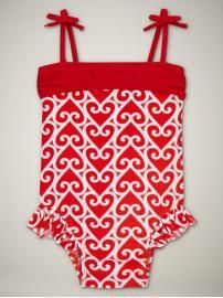 I might be in love with baby bathing suits. $24.95