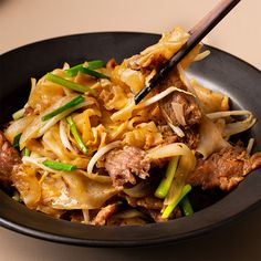 Cantonese Beef 'Chow Fun' Noodles - Marion's Kitchen