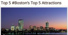 #Boston's Top 5 Attractions - http://myeffecto.com/r/1rwC_pn