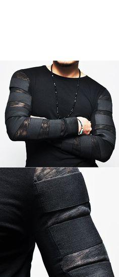 Tops :: Tees :: Re) Runway Edge Elastic Bandage Strap-Tee 144