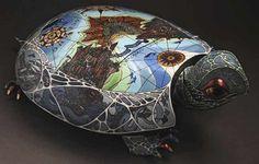 La Tortue, élue comme figuration symbolique du monde - ©Anya Stasenko & Slava Leontyev