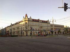 Częstochowa. Róg AL. NMP i AL Kościuszki
