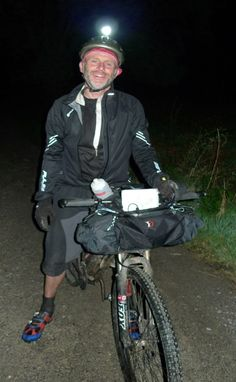 Alan Sheldon after finishing 3rd in the Highland Trail 400 in 3 days 14 hours and 6 minutes, Polaris kit served him well throughout.