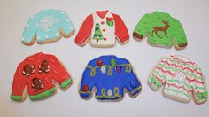 © Ugly Christmas Sweater Cookies