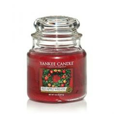 Yankee Candle Red Apple Wreath Housewarmer Jar