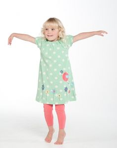 Frugi Lovely Lucy Dress - Le Loup