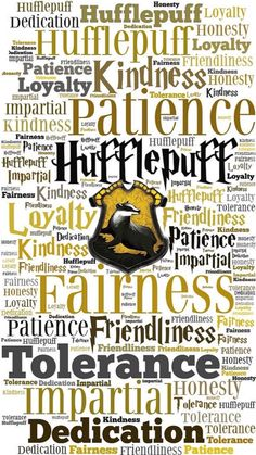 Hufflepuff attributes