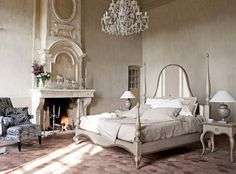 The perfect castle bedroom...