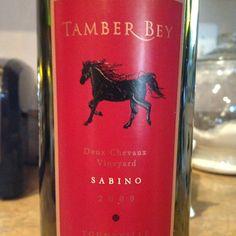 2009 @TamberBey Sabino #wine
