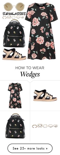 """""""Vintage Love: Retro Sunglasses"""" by joslynaurora on Polyvore featuring Glamorous, Opening Ceremony, Fendi, Dolce&Gabbana, GUESS, vintage and RetroSunglasses"""