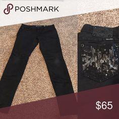 Miss Me skinny jeans Black skinny jeans, regular length Miss Me Jeans Skinny
