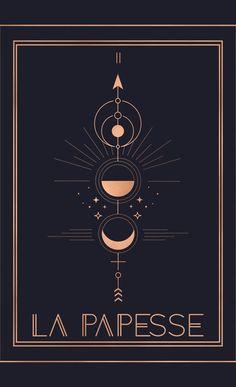 La Papesse or The High Priestess Tarot Blackout Curtain by cafelab Tarot Cards, Tarot Card Spreads, Tarot Card Decks, Symbolic Tattoos, Unique Tattoos, Symbols And Meanings, Tarot Card Meanings, The Moon Tarot Meaning, The Moon Tarot Card