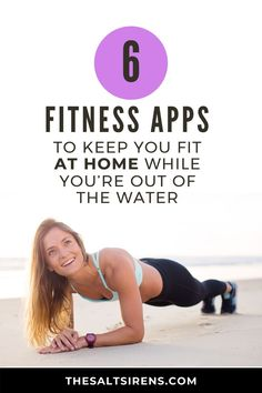 If you're somewhere where you can't escape to the sea for a quick surf, SUP, or kitesurf session, there are ways to workout from home. Fun Workouts, At Home Workouts, Surfer Surf, Snowboard, Yoga Teacher Training, Stay In Shape, Self Care Routine, Wakeboarding, Finding Peace