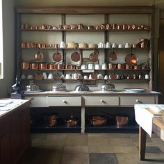 The kitchen dresser, Audley End