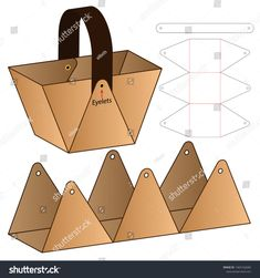 Cardboard packaging die cut template design stock vector (royalty free) 1465162685 - DIY paper b . , Cardboard packaging die cut template design stock vector (royalty free) 1465162685 - DIY paper b . Gift Packaging, Packaging Design, Paper Packaging, Cardboard Crafts, Paper Crafts, Foam Crafts, Paper Art, Cardboard Design, Cardboard Playhouse