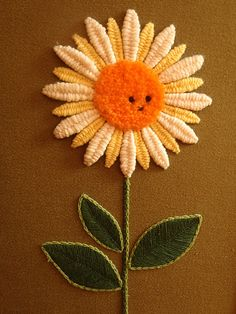 embroidered sunflower from eastside echo $39