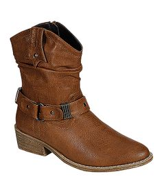 Western Brown Boots