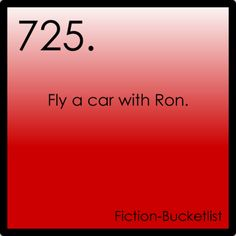 Harry Potter  We need flying cars.