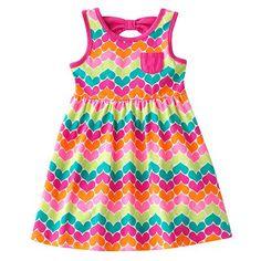 Jumping Beans Heart Bow-Back Dress - Toddler $8