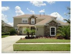 Good mix of Stone & Stucco! Home with plenty of curb appeal! 8305 Old Town Drive, Tampa FL