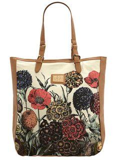 Dorothy Perkins Floral Print Canvas Shopper