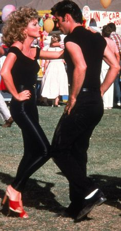 Think Miles and I can pull off Sandy and Danny this Halloween?? ;)