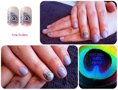 You're such a Budapest OPI Gel Mani with Blink FX App